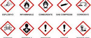 Regolamento sulle sostanze e miscele chimiche, i nuovi pittogrammi